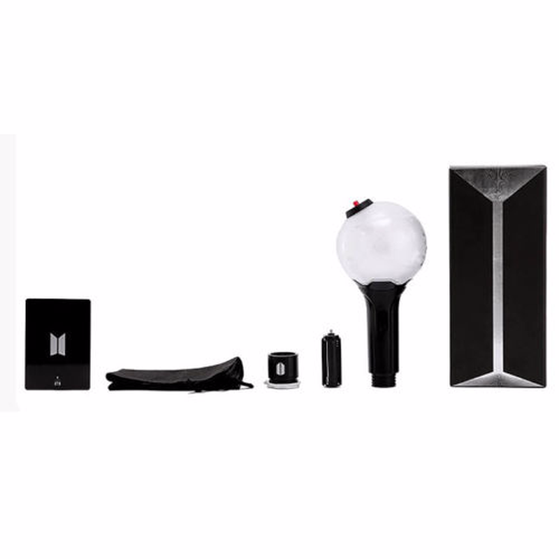 2018 New Kpop Bts Light Stick Ver 3 Army Bomb Bangtan Boys Concert Glow Lamp Lightstick V Fans Gift Luminous Toys With 7 Cards Profusionwares
