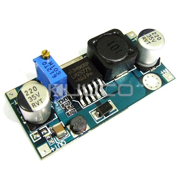 15W Power Supply Module DC 3V~30V to <font><b>4V</b></font>~35V Boost Converter/Adjustable Voltage Regulator DC 5V 12V 24V <font><b>Adapter</b></font>/Driver Module image