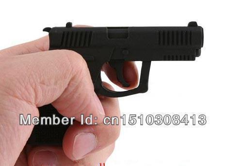 100% real capacity black gun Genuine usb flash drives16GB Pen Drive USB Flash 2.0 Memory Drive Stick Pen/Thumb/Car S19 #AA