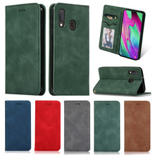 Suitable for Samsung Galaxy Note10 9 8 S10 S10e Plus M 20 10 pro flip card wallet shell