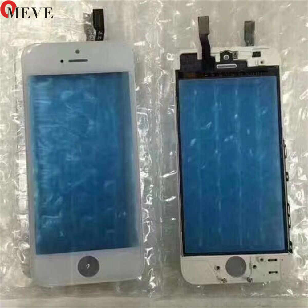 Touch Screen Digitizer + Frame Per il iPhone 6 6S 6P 5S 5C 5G 7G 7P Più Touchscreen Frontale Touch Panel Obiettivo di Vetro Accessori Del Telefono