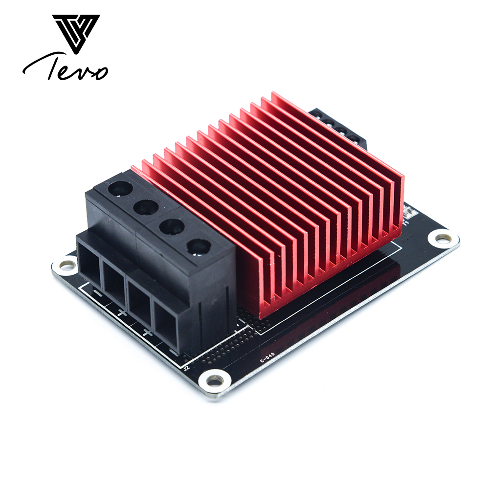 3D piezas de la impresora controlador MKS MOSFET para la cama del calor/extrusora MOS módulo supere 30A corriente grande de la ayuda