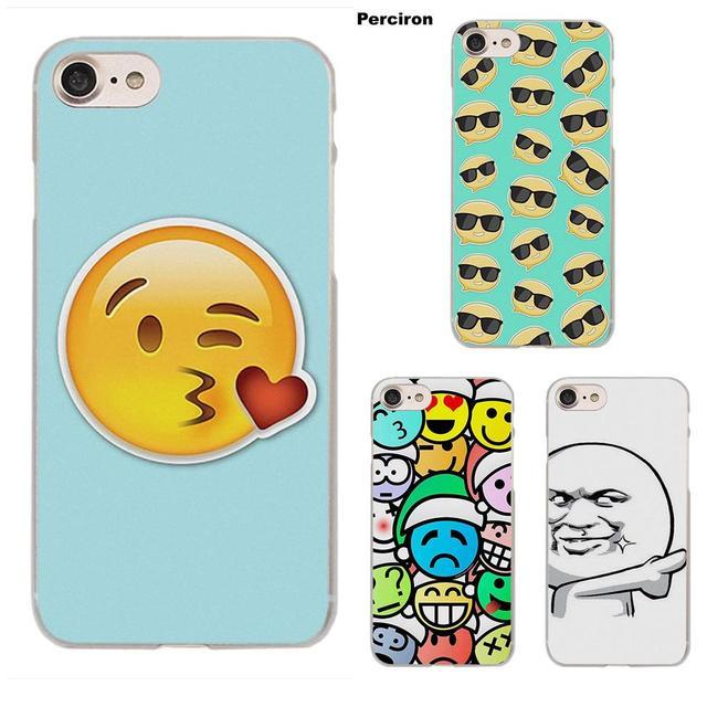 Perciron Drama Queen Emoji Funny Emoji Face For Moto G G2 G3 For HTC Desire  530 626 628 630 816 820 One A9 M7 M8 M9 M10 E9 Plus-in Half-wrapped Case