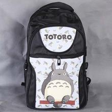Anime Mi Vecino Totoro bolsa de Ordenador Portátil Mochila Negro/Doble-Hombro/Escuela/Viajes para Adolescentes o Animación entusiastas