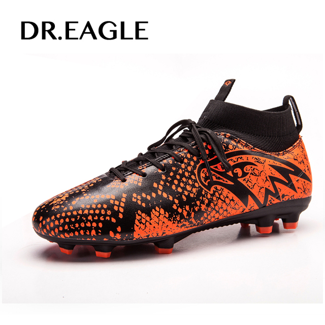 043e5991c88 Soccer Cleats For Men Football Boots Original Traning Football Boots With Spikes  Green Black Mens Outdoor Training Shoe