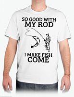 Так хорошо с моим стержень я делаю рыбы приходят рубашка забавная футболка белая рубашка
