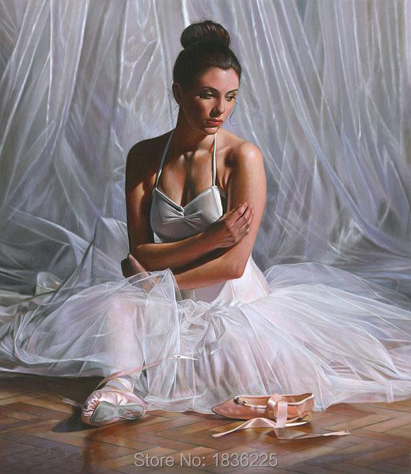 Peintures modernes ballerines peinture à l'huile | Décor mural, peinture à l'huile personnes, décoration murale idées de noël