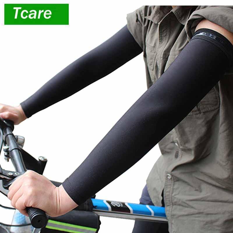 Armstulpen 2019 Neueste Heiße 1 Paar Outdoor Cooling Arm Sleeves Für Radfahren Basketball Fußball Laufen Sport Bekleidung Zubehör