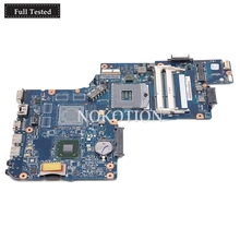 NOKOTION Brand New H000051540 Main board For toshiba satellite C850 L850 c855 Laptop motherboard HM76 intel HD GMA Graphics nokotion a000052590 datz1cmb8f0 main board for toshiba satellite x500 x505 laptop motherboard hm55 ddr3 with graphics slot
