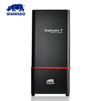 Дубликатор 7 V1.2 V1.3 V1.4 V1.5 (red edition) Wanhao версия УФ смолы DLP SLA 3D принтер D7 высокого качества