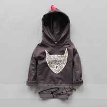 2019 Spring Boys Girls Jackets For Children Hooded Cute  Windbreaker Kids Coats Baby Clothes Outerwear Clothing for 2-7Y child цена 2017