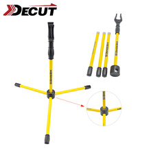 DECUT Archery Recurve Bow Stand Fiberglass Holder for Shooting Hunting Outdoor Sports