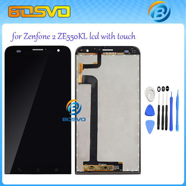 Replacement For Asus for Zenfone 2 ZE551ML ZE500KL ZE550KL ZE500CL LCD Panel Touch Screen Digitizer Assembly Free Shipping+ tool