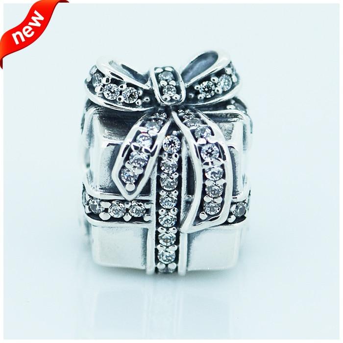 ea174c951 CKK 925 Sterling Silver Jewelry Sparkling Surprise Original Fashion Charms  Beads Compatible with Fandola Bracelets