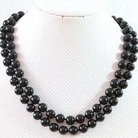 Hot Black Shell 6 14mm Round Beads Fashion Diy Necklace 36 B668