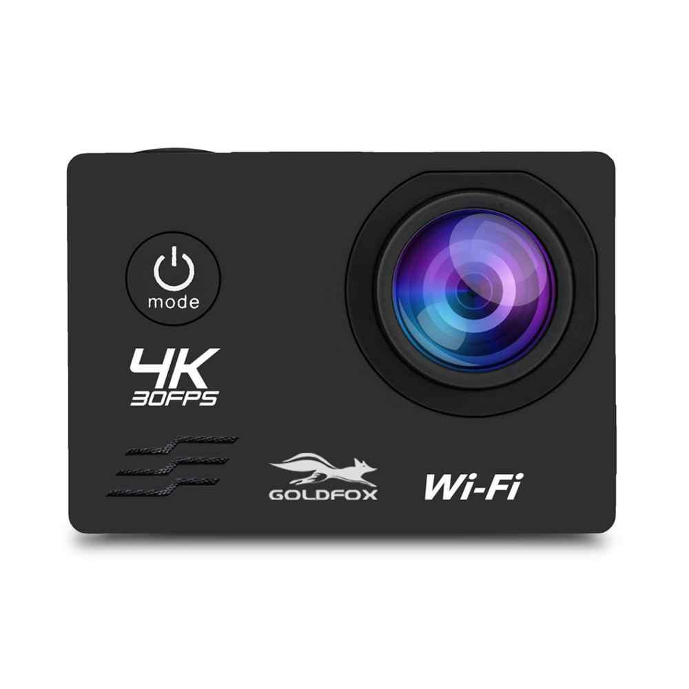 HD Wifi عمل كاميرا 2 بوصة LCD شاشة 4K 30FPS في الهواء الطلق الذهاب للماء برو الغوص الرياضة كاميرا خوذة DVR فيديو رقمي تسجيل