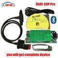 Buena calidad Nuevo Diseño de Oro TCS CDP Con 2015 R1 Envío Activo/2014 R2 TCS CDP SIN Bluetooth NUEVO VCI Para COCHES/CAMIONES Genérico 3 en 1