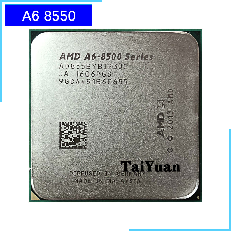 AMD CPU Dual-Core Ghz A6 8550 A6-Series Processor-Ad8550ybi23jc/ad855bybi23jc-Socket