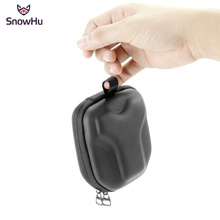 SnowHu For GoPro Camera accessories Bag Small Case Protective Camera Protector soft Bag Case for GoPro Hero 7 6 5 xiaomi yi GP39 стоимость