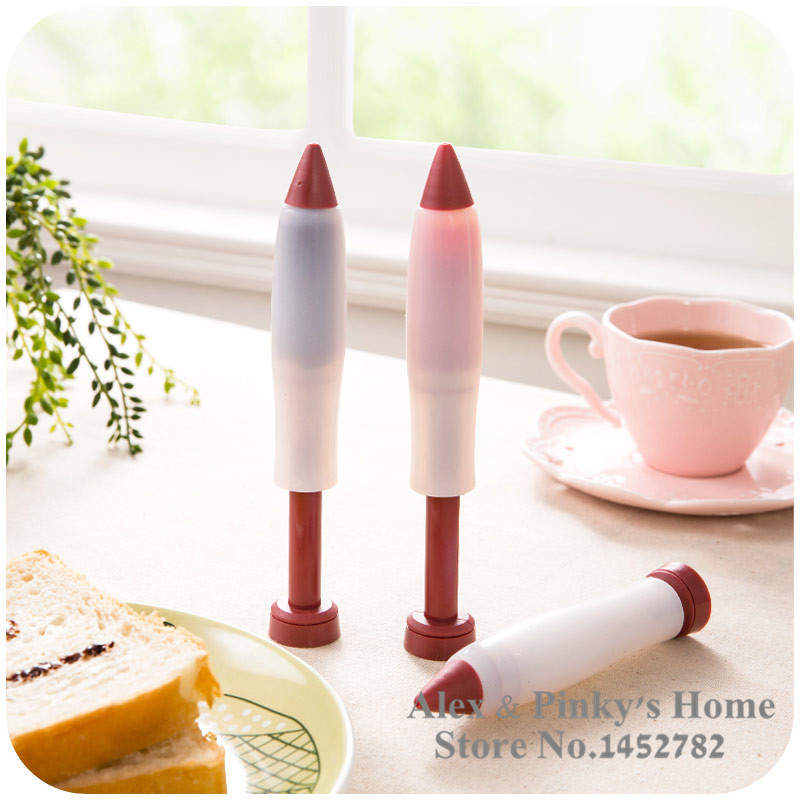 Aliexpress.com : Buy Silicone Cake Decorating Tools Writing Pen Jam  Chocolate Cake Baking DIY
