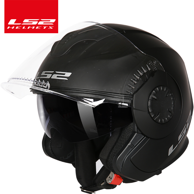 100% Origina LS2 Verso OF570 vintage motorcycle helmet open face locomotive retro scooter motorbike helmet men vesap ECE ls2 helmet