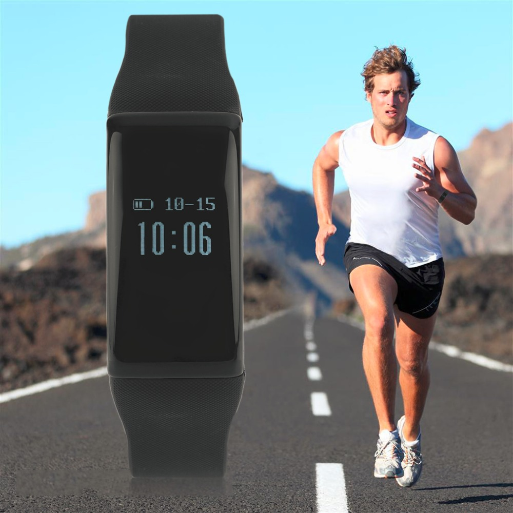 Multifunctional Smart Intelligenct Heart Rate Sleep Monitoring Fitness Bracelet Wristband For Android For IOS