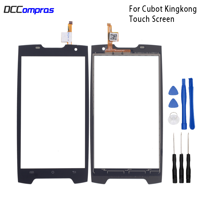 Original Touch Screen For Cubot King Kong  Touch Panel Glass Replacement For Cubot King Kong  Touch Panel Free ToolsOriginal Touch Screen For Cubot King Kong  Touch Panel Glass Replacement For Cubot King Kong  Touch Panel Free Tools