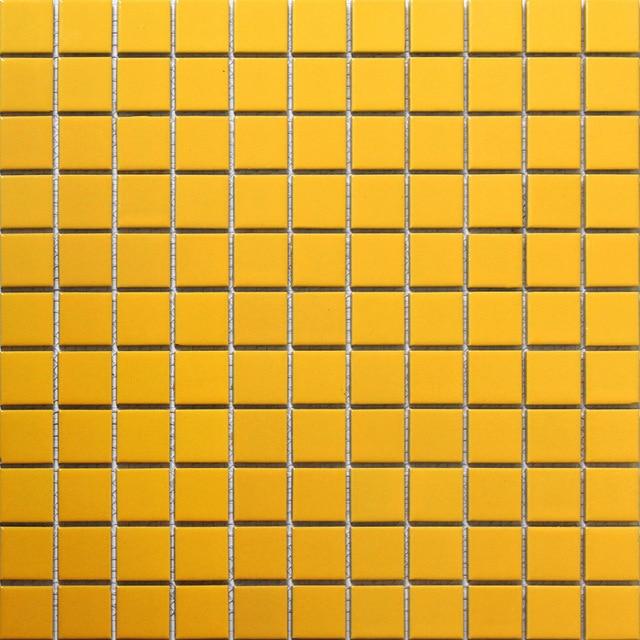 Aliexpress.com : Buy yellow square ceramic mosaic tile ...