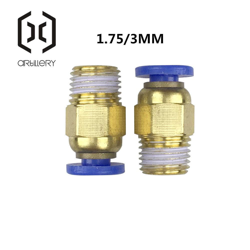 Impressora 3D Encaixe Pneumático Push in Rápida Fittings Conector para PC4-01 1.75mm ou PC6-01 3.0 milímetros