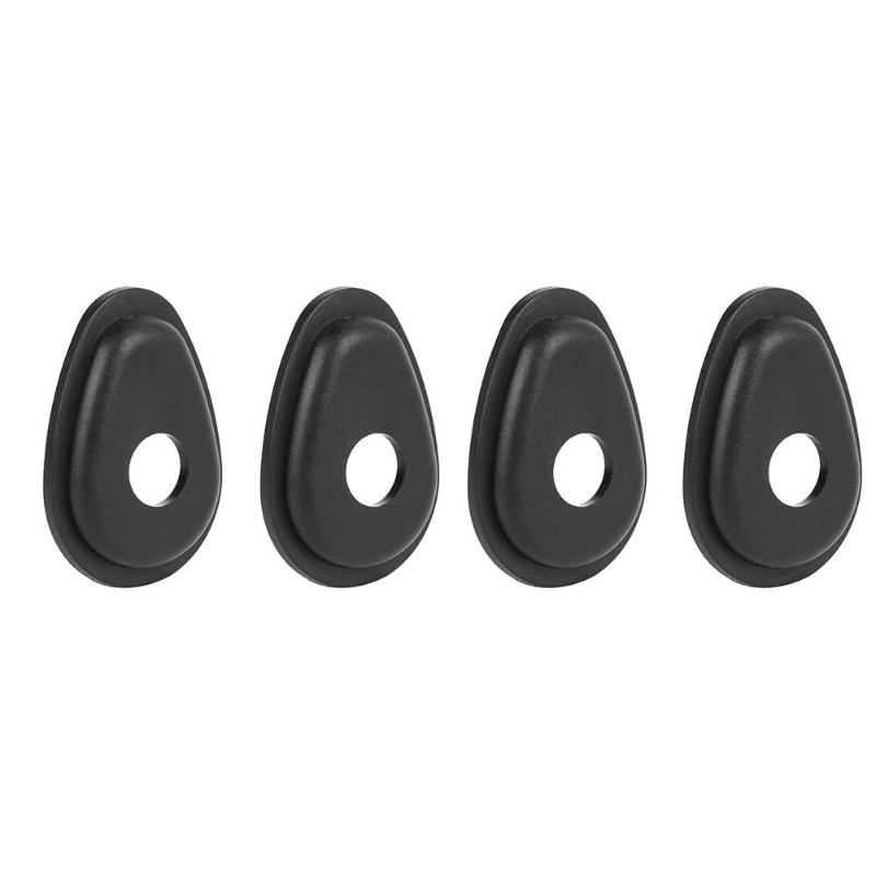 4pcs Motorcycle Front/Rear Turn Signals Indicator Adapter Spacers For YAMAHA FZ1 FZ6 FZ8 FZ16 XJ6 XSR 700/900 MT-09 Tracer S7NF