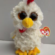 5980a2c642a Ty Beanie Boos Cute Animals hennie chicken Small Size Sky. US  3.67   piece Free  Shipping