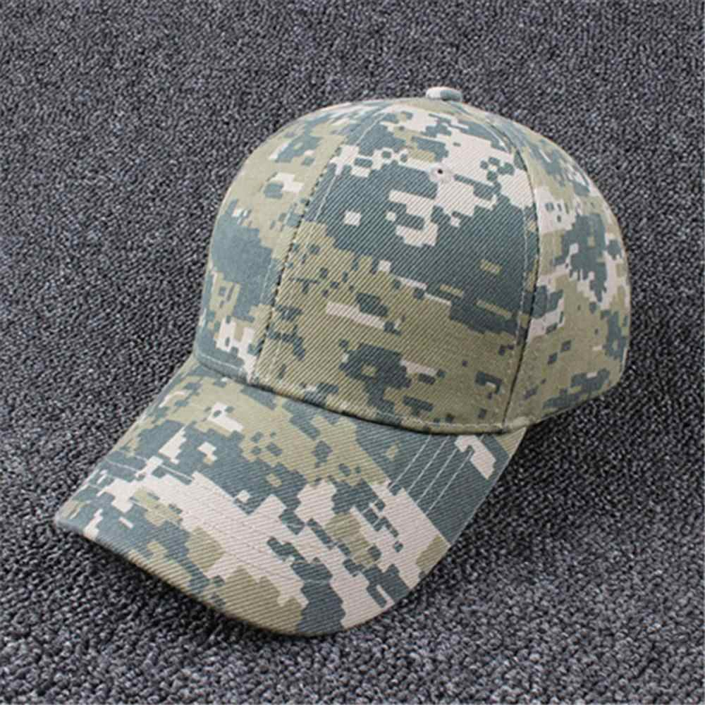 1d6c7162c6988 ... Men Women Adjustable Military Hunting Fishing Hat Army Baseball Head  Cover Wearing Outdoor Cap Popular Trend ...