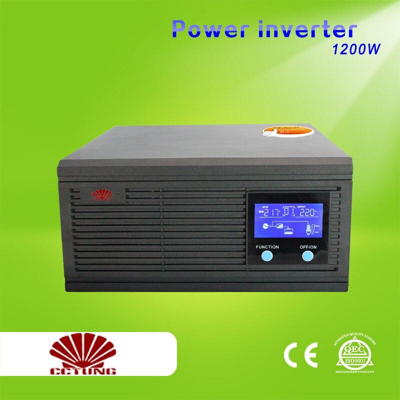 1500VA 1200W Power Inverter Home Inverter System 85 275VAC Input 110V 220V 230V 240VAC Pure Sin Wave Output with 12V 24V Battery|output|output 12v|  - title=