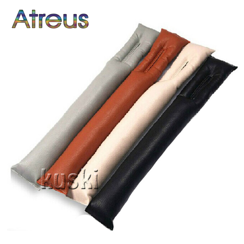 Atreus 1X Car Styling Seat Gap Filler Pad Cover For Ford Focus 2 3 Fusion Mondeo 4 Kuga Chevrolet Cruze Lacetti Aveo Accessories
