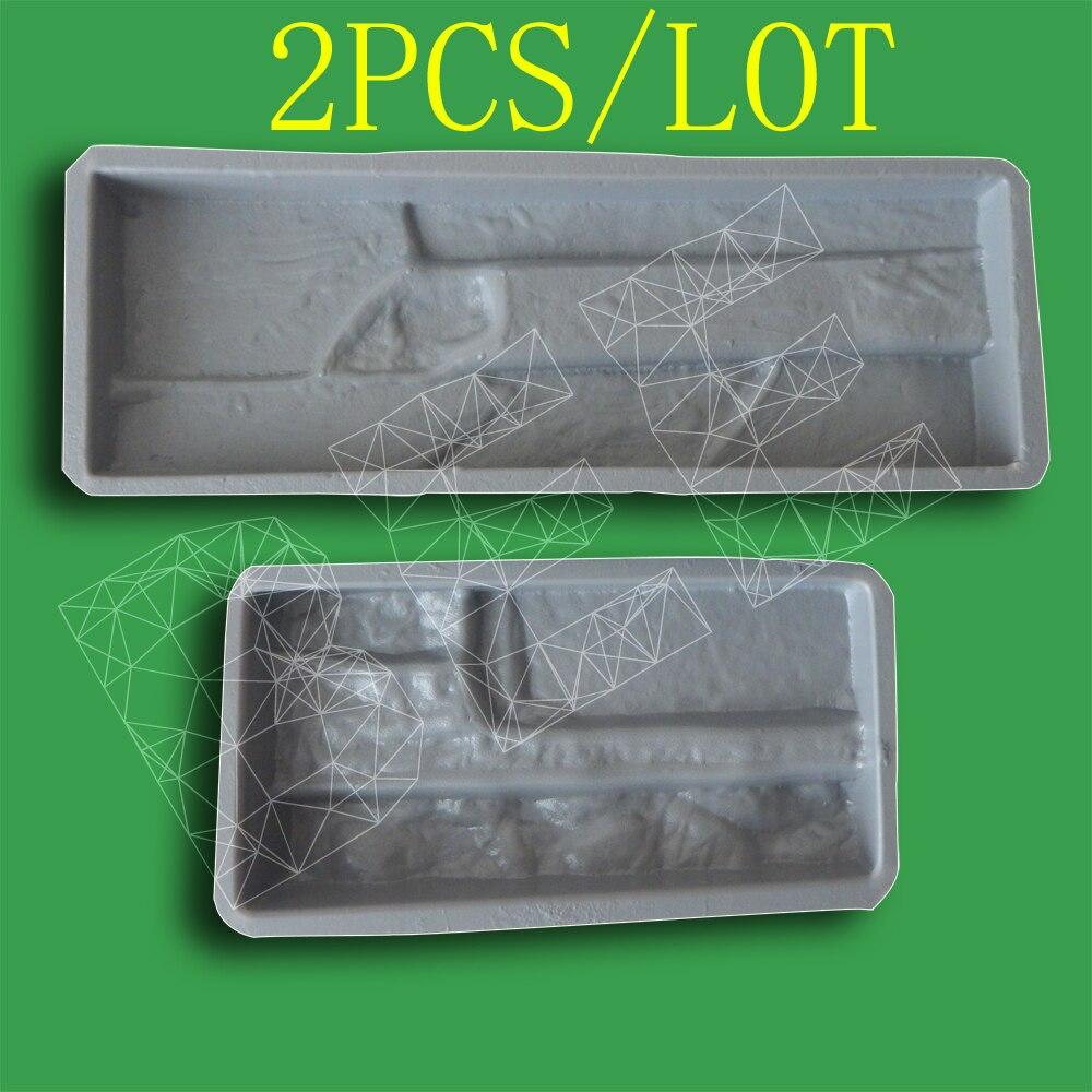 plastic molds for concrete plaster wall stone tiles garden