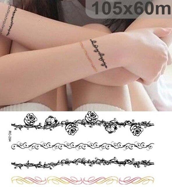 Tobilleras De Mujer Tatuajes tendencia caliente de pequeñas mujer elemento pulsera tobillera
