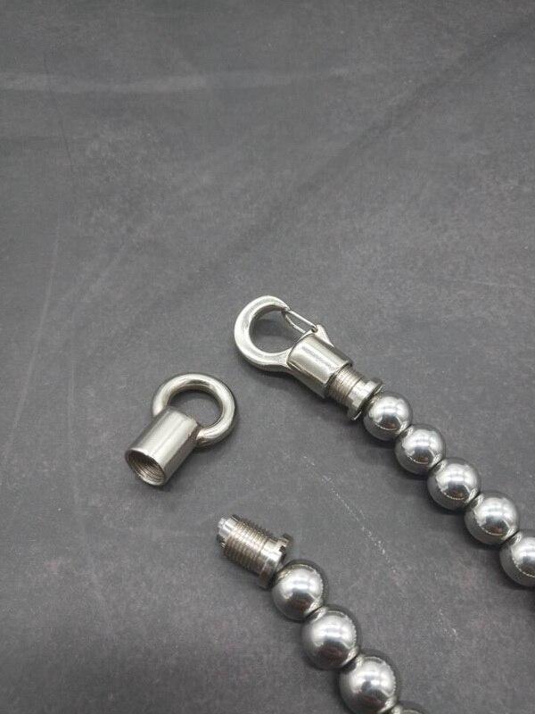 bola de aço sólido, pingentes, pulseiras, disjuntores