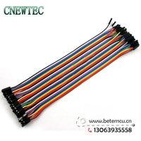 400 шт., 10 лот, 40 шт. компания DuPont провода кабель линии 1 п-1 п контакт разъем 20 см 2, 54 мм, электронные компоненты
