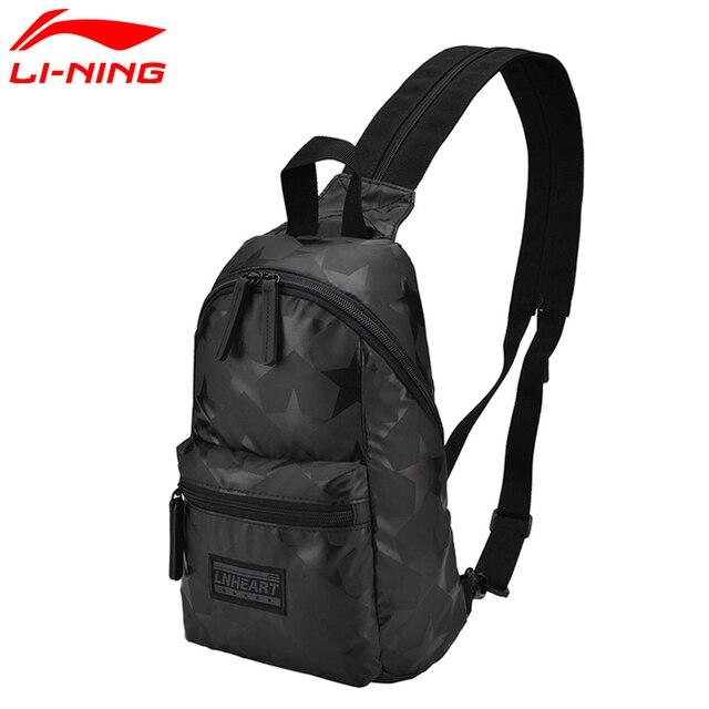 369d2e682a45cc Li-Ning Unisex Training Backpack Men&Women Classic Leisure Polyester  Adjustable Shoulder Strap LiNing Sports Bag ABSM016 BBF226