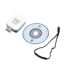 Top Deals Mini Micro-USB DVB-T Digital Mobile TV Tuner Receiver For Android Phone/ Tablet White
