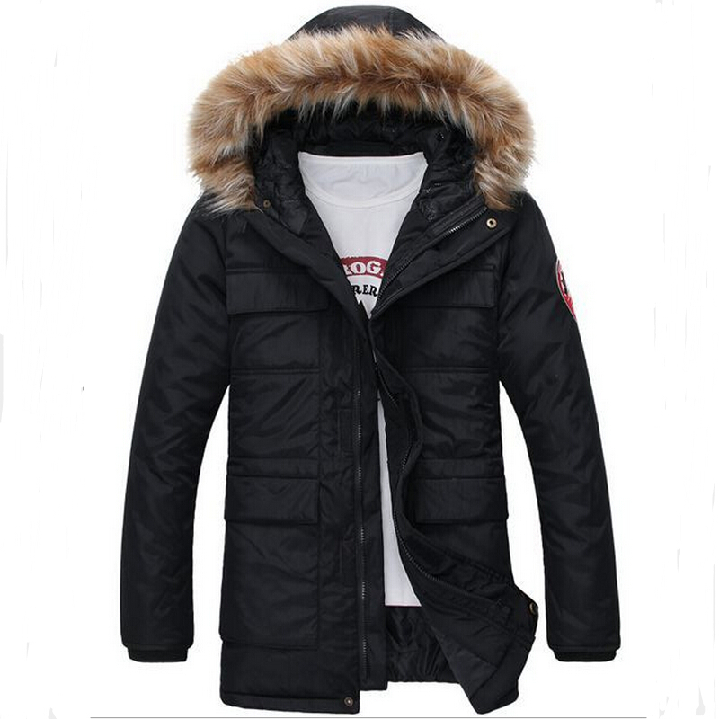 Free Shipping The New Winter 2015 Men's Fashion Leisure Men More Upscale Warm The Cold  Cotton-Padded Jacket Jacket