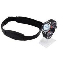 Venta caliente del ritmo cardíaco Monitores Sport fitness reloj favor al aire libre Ciclismo deporte impermeable inalámbrico con correa de pecho