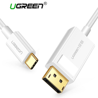 Ugreen USB C DP Cable USB Type C To DisplayPort Adapter For MacBook Samsung Galaxy S8