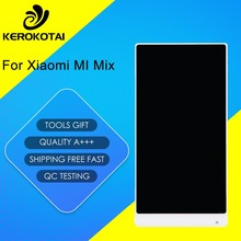 FOR Xiaomi Mix 100% Tested Good Quality LCD Display Touch Screen Digitizer Full Assembly MI Mix LCD Assembly