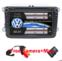 2 Din 8 Inch Car DVD Player For VW POLO PASSAT Golf Skoda Octavia SEAT LEON