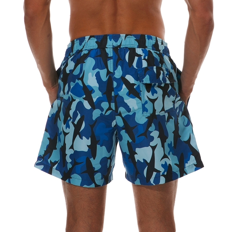 65d138ce6d Short Swimming Trunks For Men: These swimming trunks are short but above  your knees.