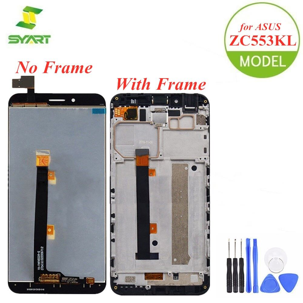 For <font><b>ASUS</b></font> ZenFone 3 Max <font><b>ZC553KL</b></font> LCD Display <font><b>Touch</b></font> <font><b>Screen</b></font> Digitizer Assembly Replacement Parts + Tools For <font><b>Asus</b></font> X00DD 5.5