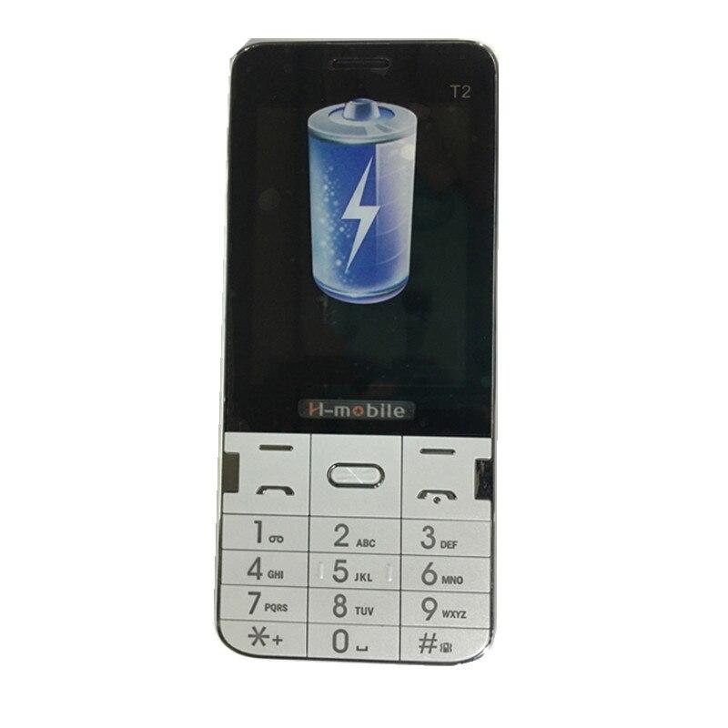 Цена за H Mobile T2 Телефон с Двумя Sim карты Bluetooth Фонарик MP3 MP4 FM Camera2.8 дюйма CheapPhone (может добавить Русская Клавиатура)