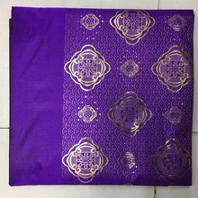 LXLX-3-4 Purple African Headtie,Nigerian Sego Gele Headties/scarf/ Bandanas for wedding party