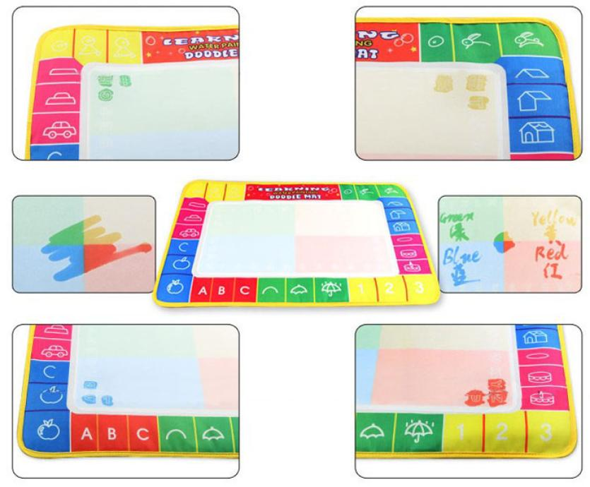 2016-New-29X19cm-Children-baby-toy-Water-Drawing-Painting-Writing-Mat-Board-Magic-Pen-Doodle-Toy-Gift-Learning-Drawing-Toys-4